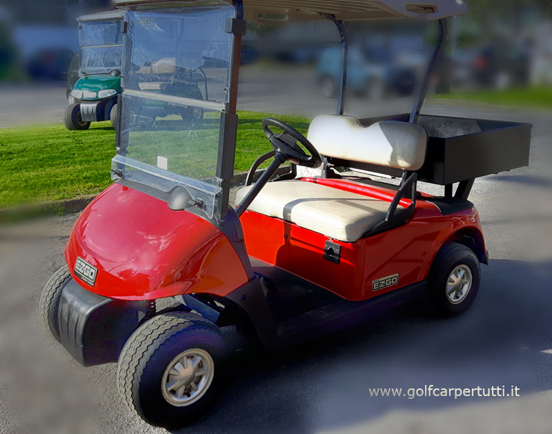 golf car ezgo con cassone usati